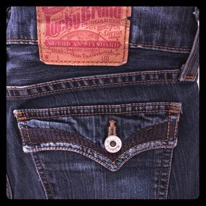 Lucky Brand Lil' Maggie button fly women's jean